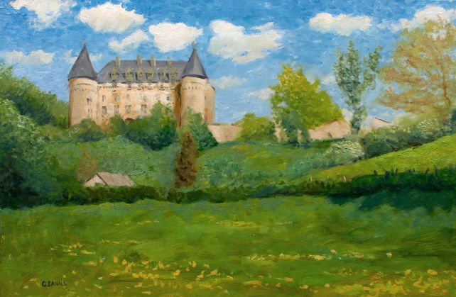 French impressionism, Rochechouart castle