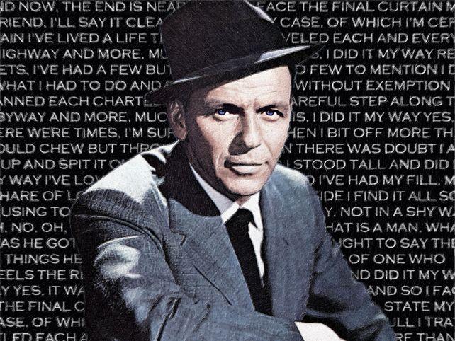 Frank Sinatra And Lyrics To My Way