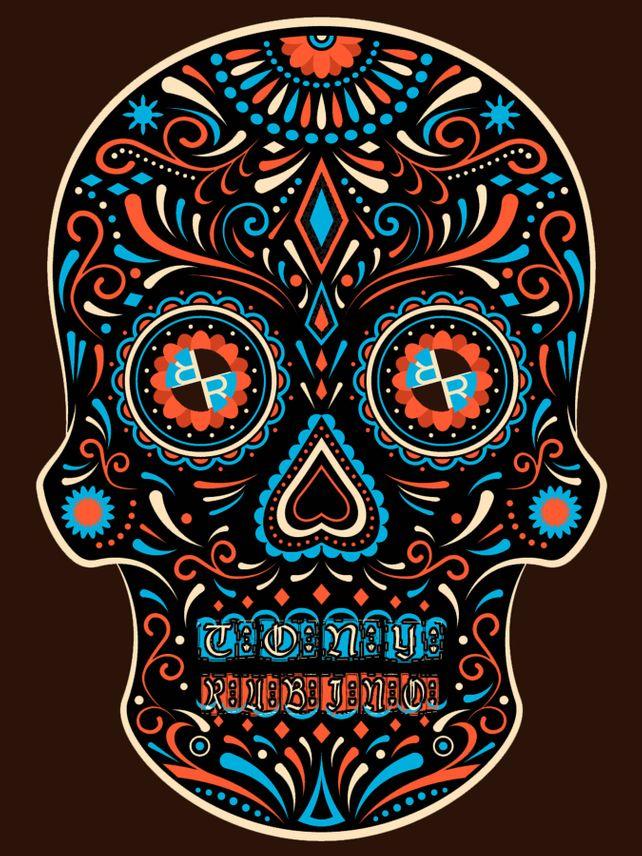 Rubino Skull Mexico