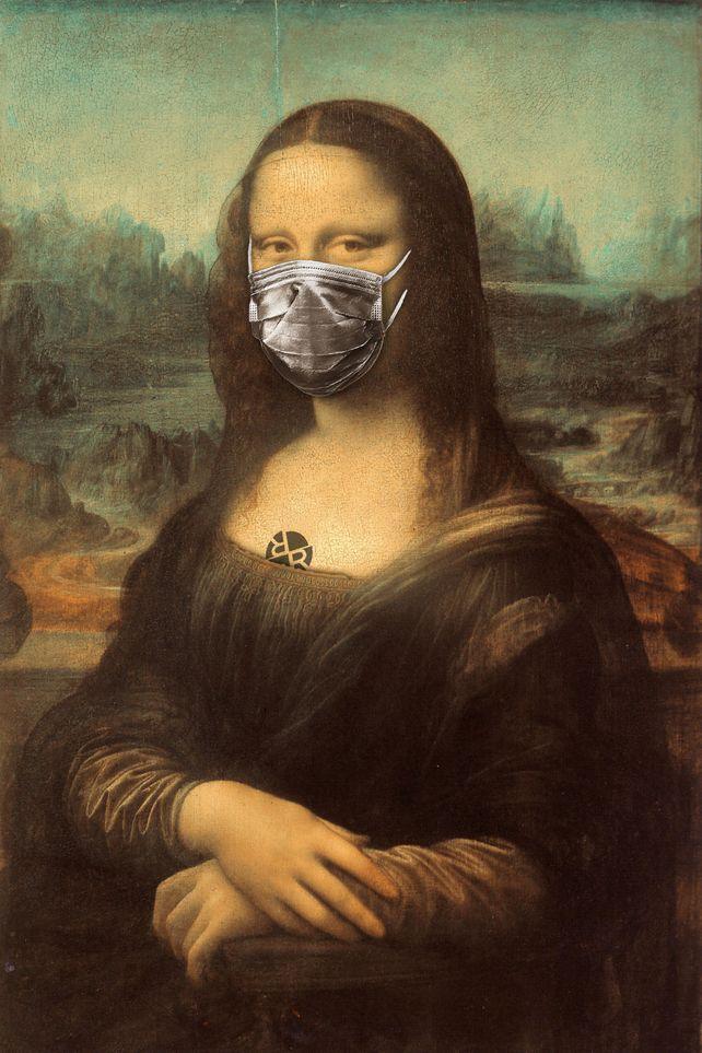 Mona Lisa Corona Virus