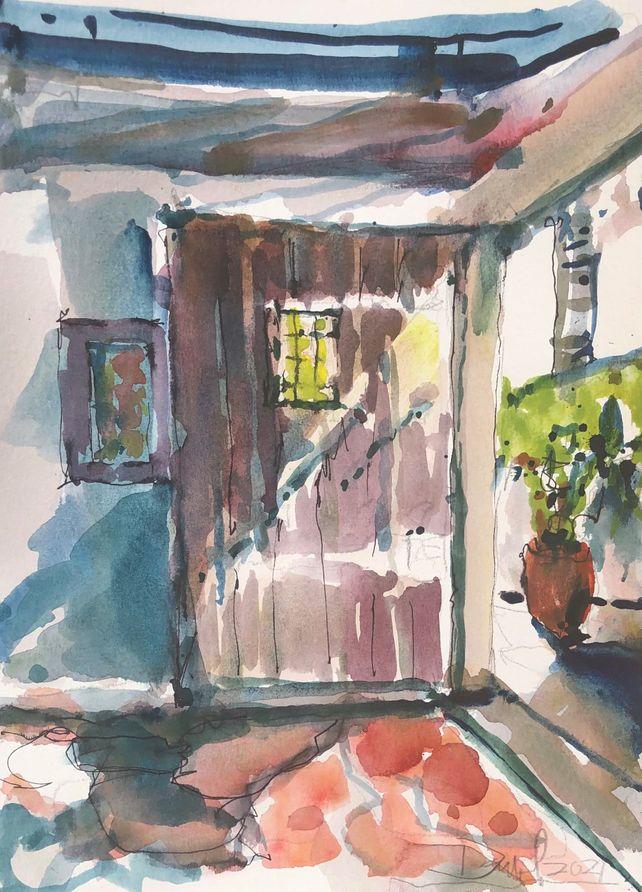 Rustic Doorway Firenze