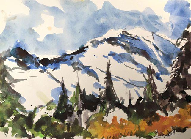 Mt. Rainier Snow