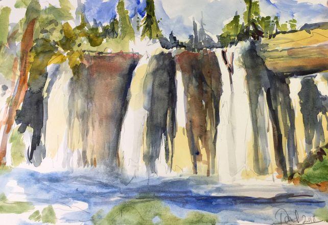 Burney Falls Near Redding