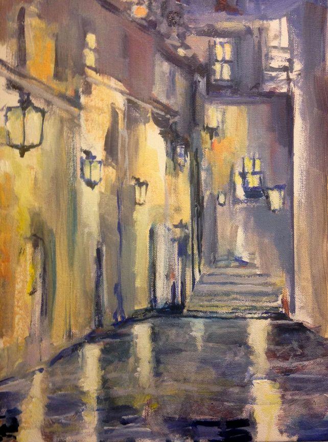 Wet Evening Avignon