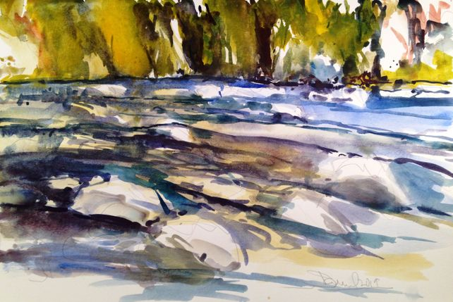 McKenzie River Rocks