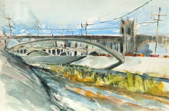 Los Angeles River Scene