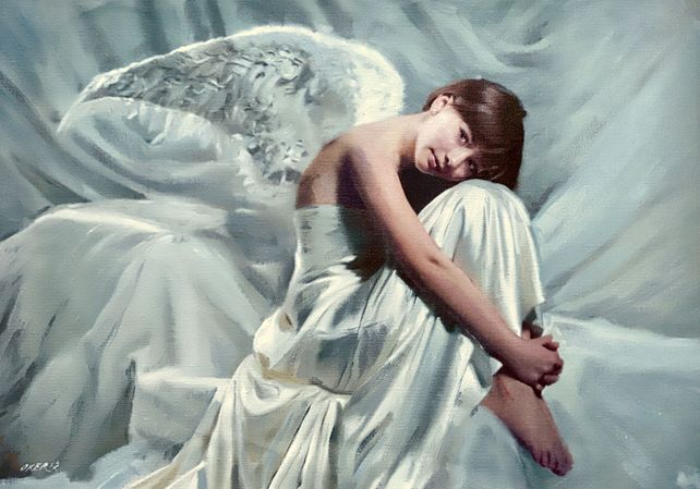 Contented Angel