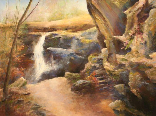 Toward the Hemlock Cliffs, Hoosier National Forest