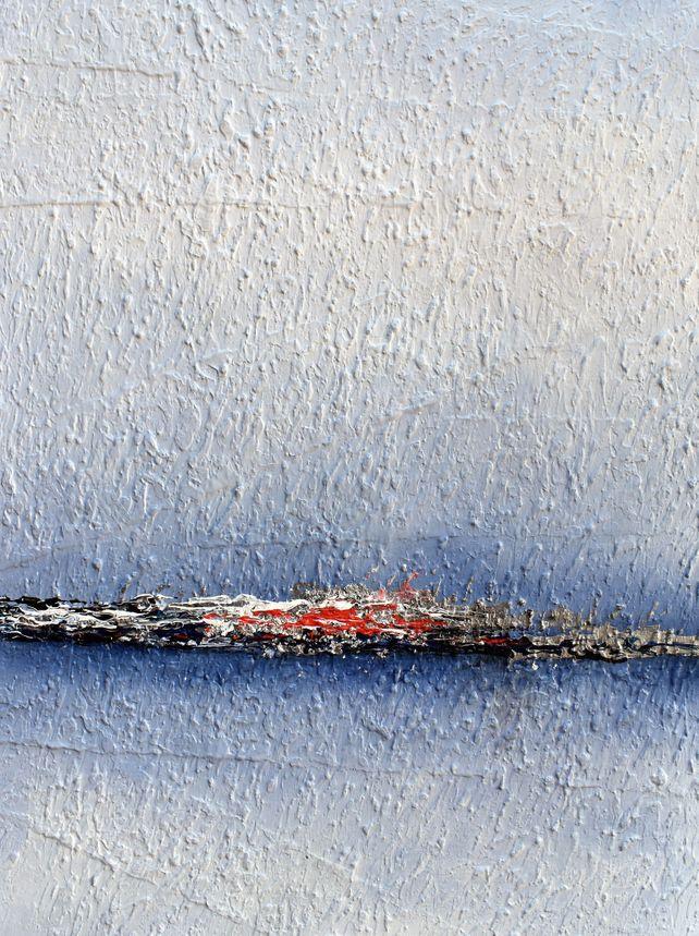 Paesaggio Poetico- Classic Blue( Poetic Landscape)