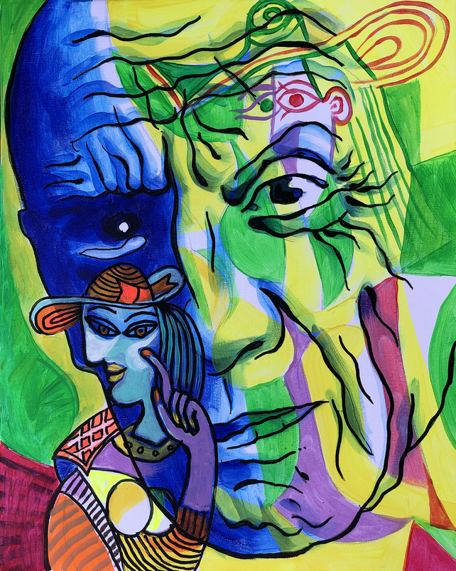 Portrait of Pablo Picasso