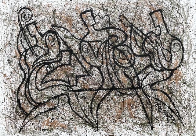 Jazz and Jackson Pollock Rhythm2