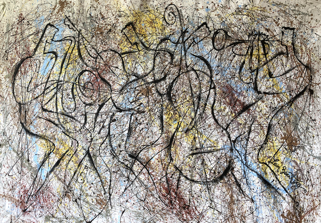 Jazz and Jackson Pollock Rhythm3