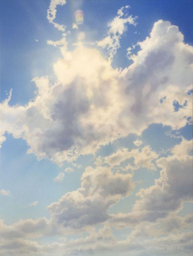 Summer Sun with Cloud
