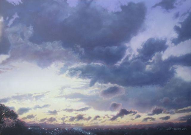 Purple After Sunset