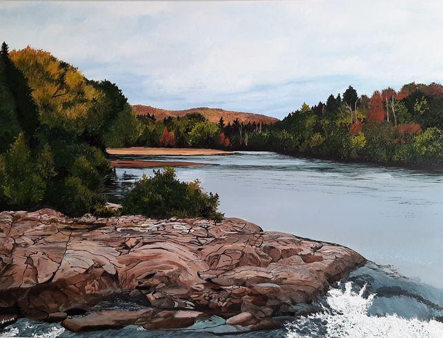 Waterfalls in Brébeuf, Quebec II