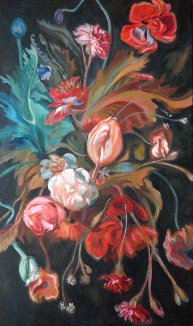 Flowers on Black #2