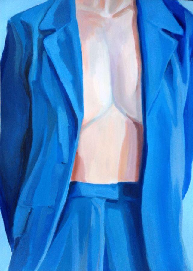The Blue Suit