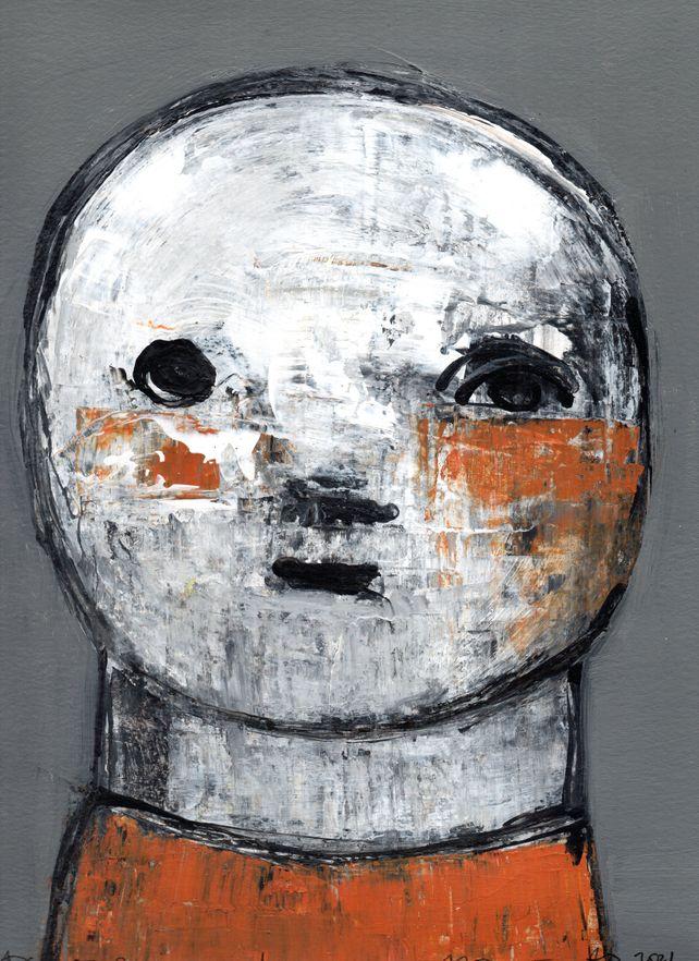 Macius - Portrait of a Child - original on paper