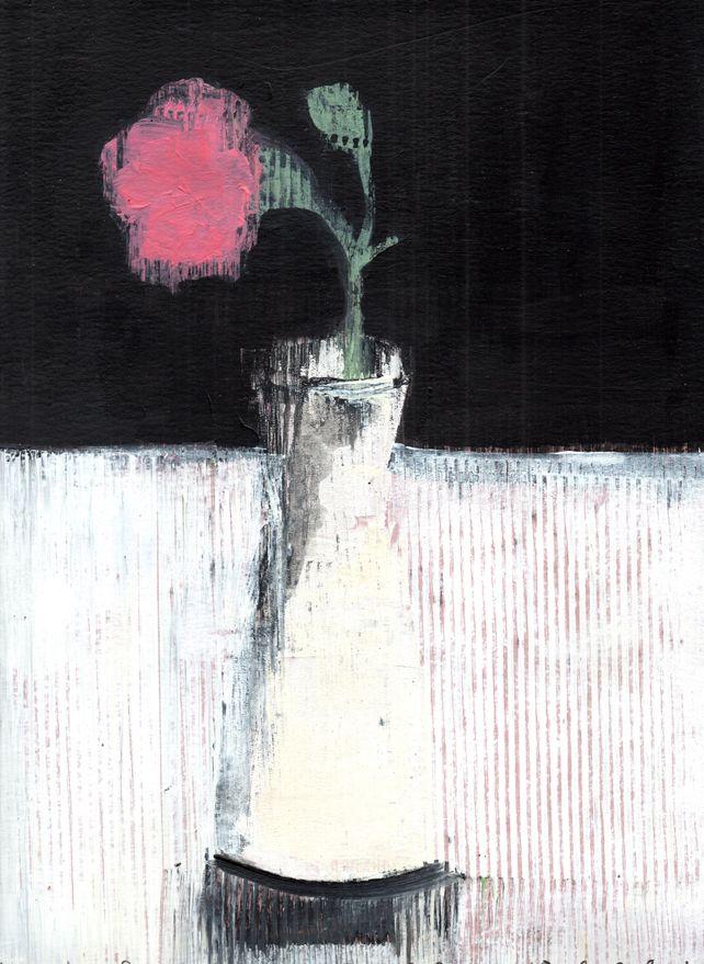 Melody by Night - still life - original on paper