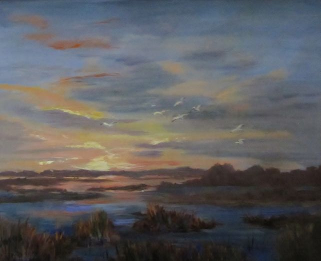 Daybreak over the Marsh