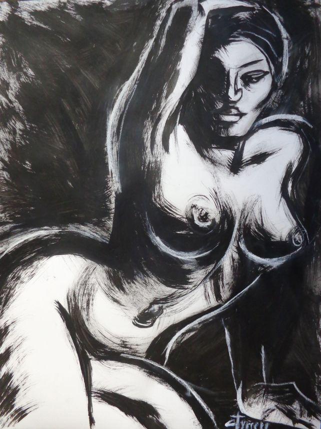 Posture 6 - Female Nude
