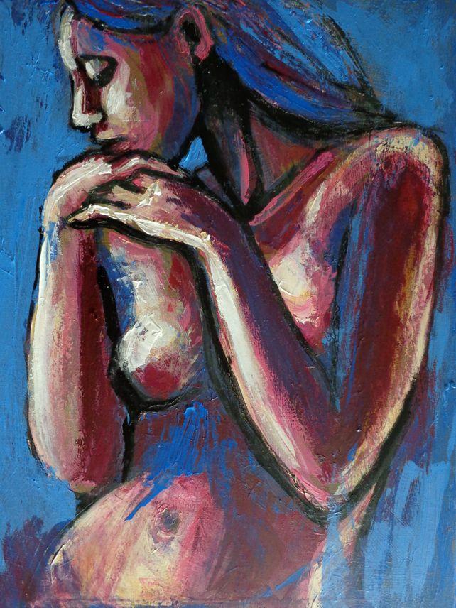 Sentimental Mood - Female Nude