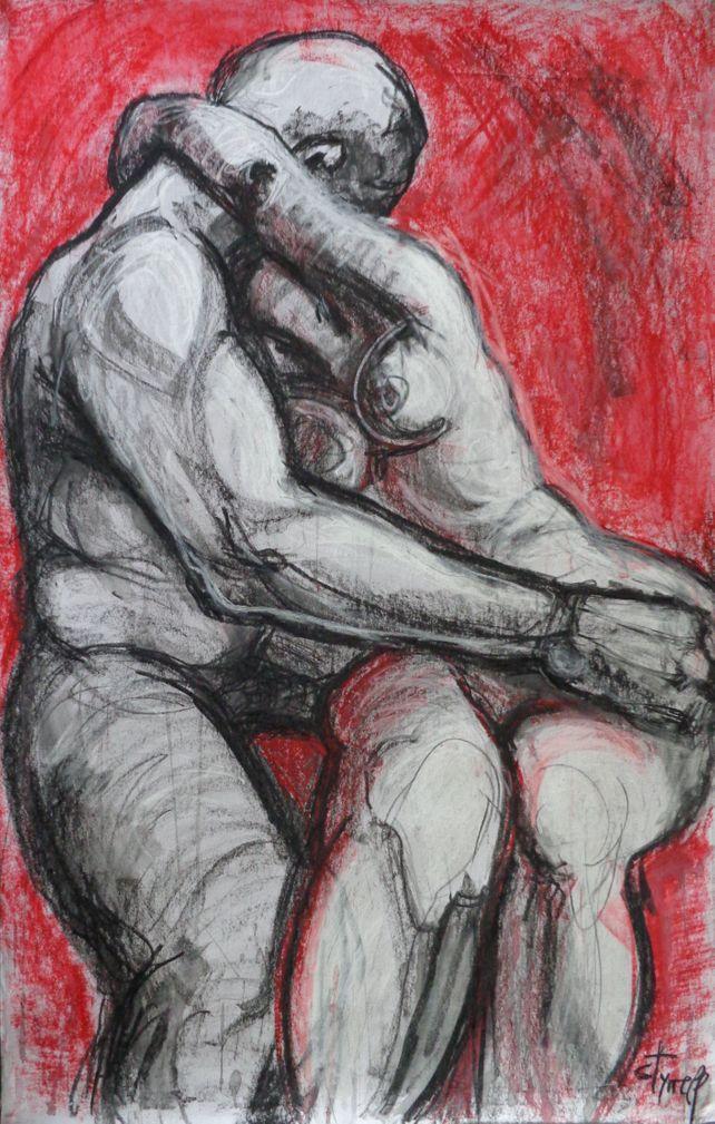 Lovers - Kiss 5 - Rodin