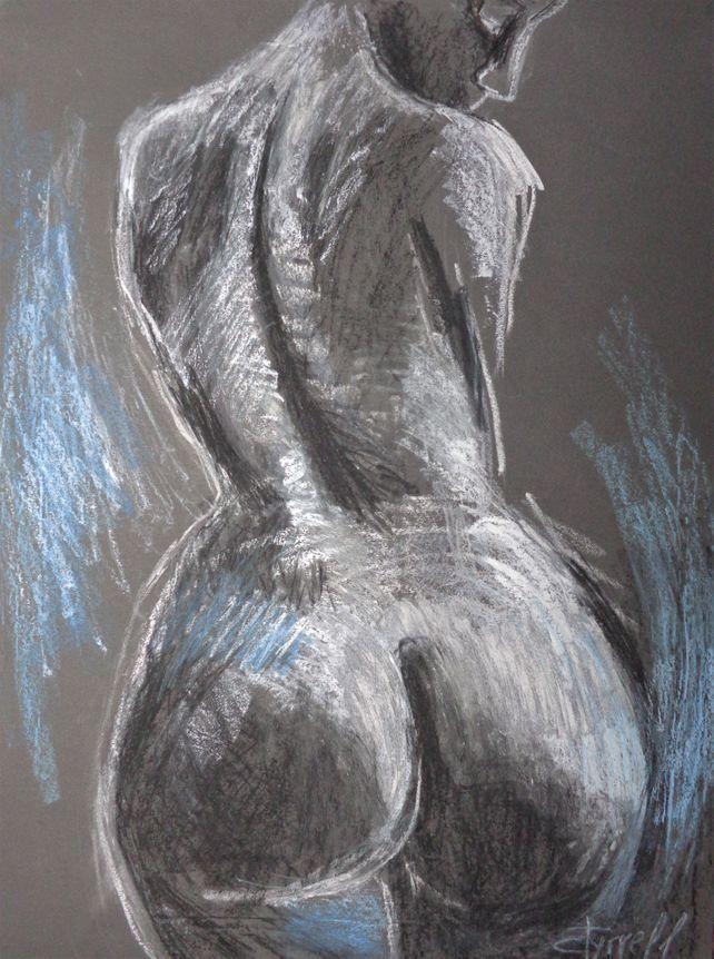 Curvy Nude Back