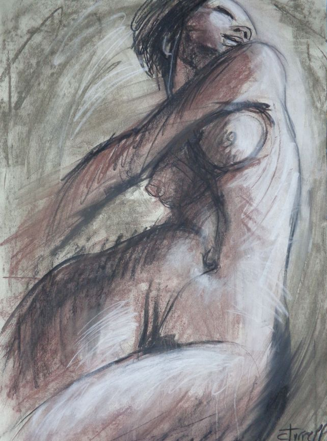 Happy - Female Nude