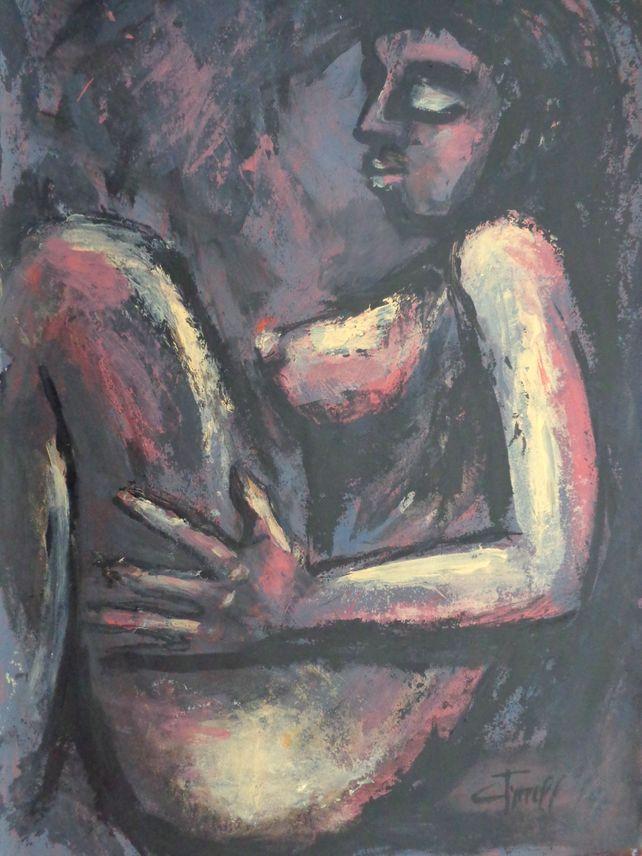Resting 2 - Female Nude
