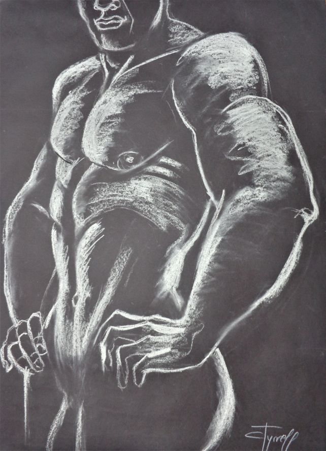 Man Nude Figure 2