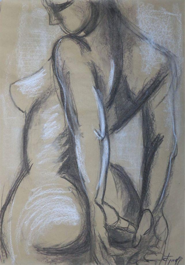 Nude Figure 1