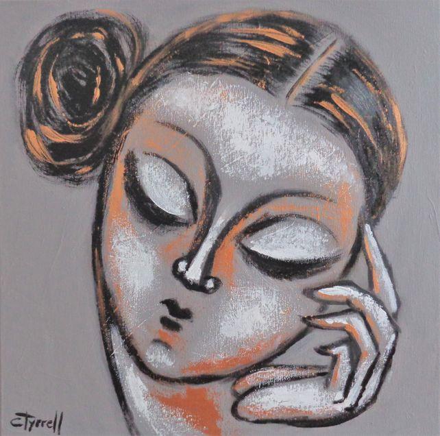 Thinking Muse - Portrait