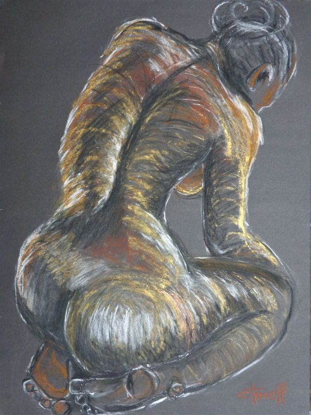 Colourful Nude