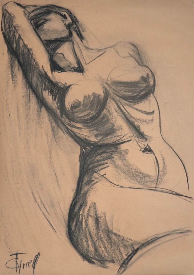 Dramatic - Female Nude