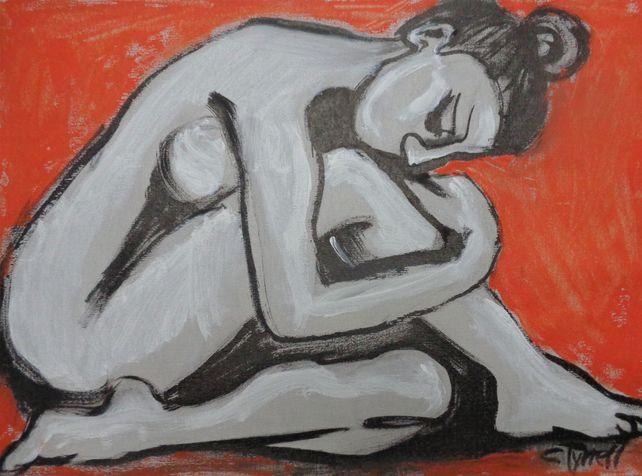Posture 4 - Female Nude