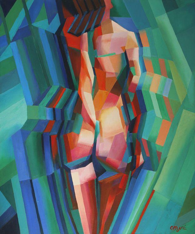 Cubistic nude 02 (2013)