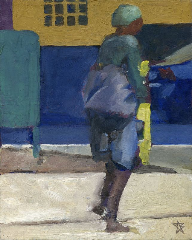 Figure in Green with Boots
