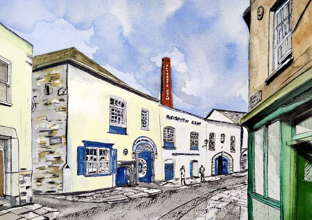 Plymouth Gin Distillery, the Barbican Plymouth