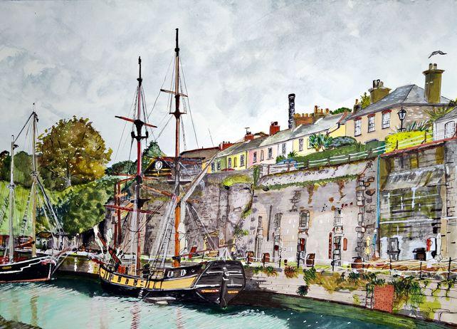 Charlestown Port, Cornwall