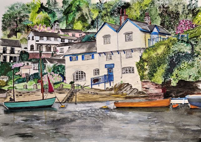 Ferryside, Boddinick, Cornwall