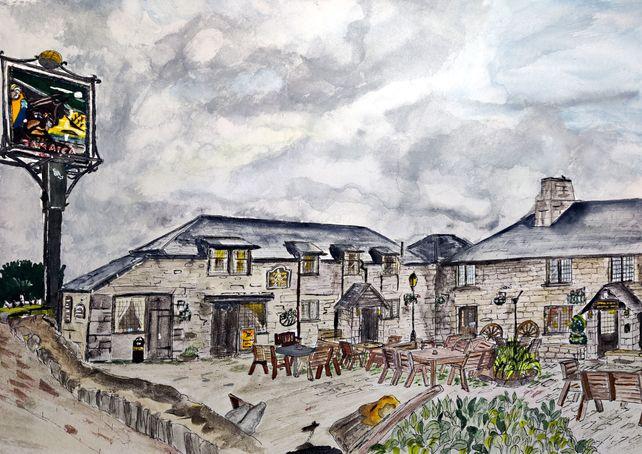 Jamaica Inn on Bodmin Moor, Cornwall