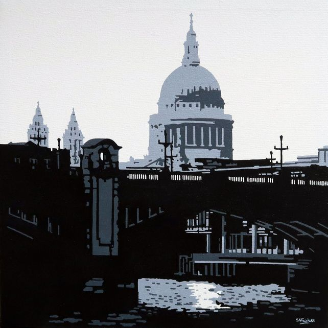 Southwark Bridge & St Paul's