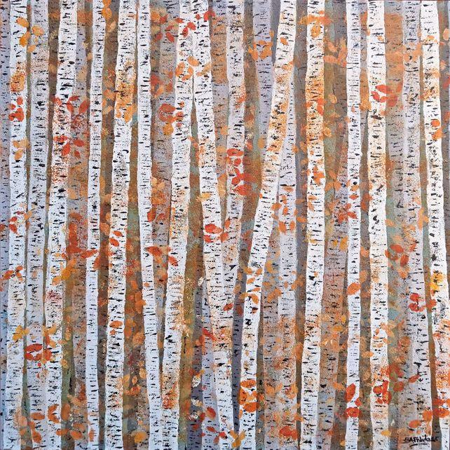 Silver Birch Autumn Colour