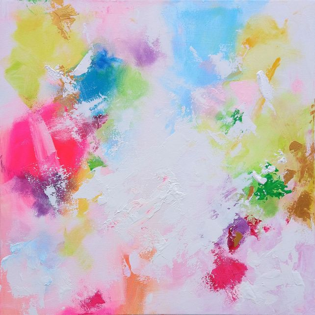 Kaleidoscope of Colour 60 x 60cm Abstract Painting