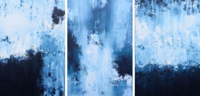 XXXL Midnight Whispers 183 x 92 cm (72 x 36 inch)