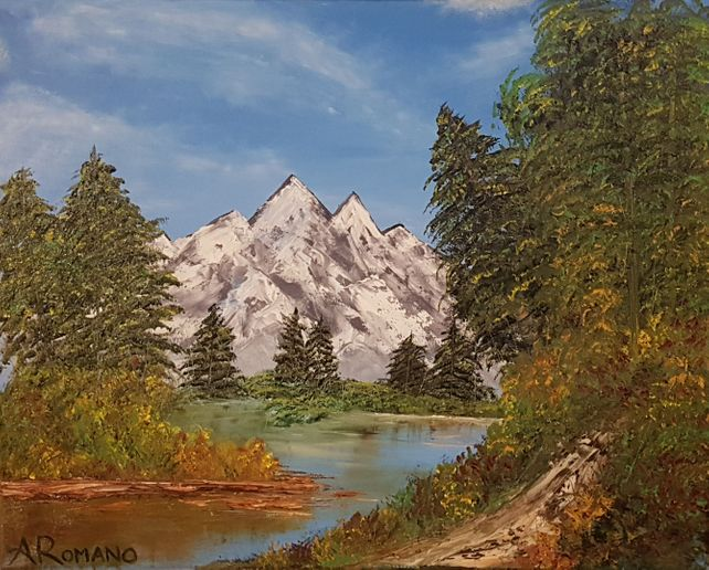 Mystic Mountains | 20 x 16 IN