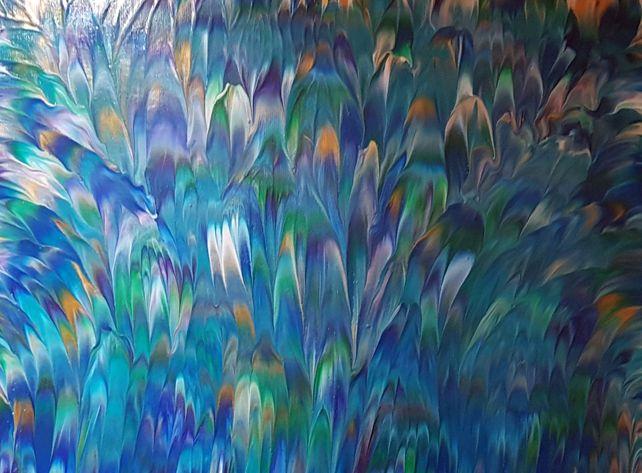 Peacock II | 24 x 18 IN