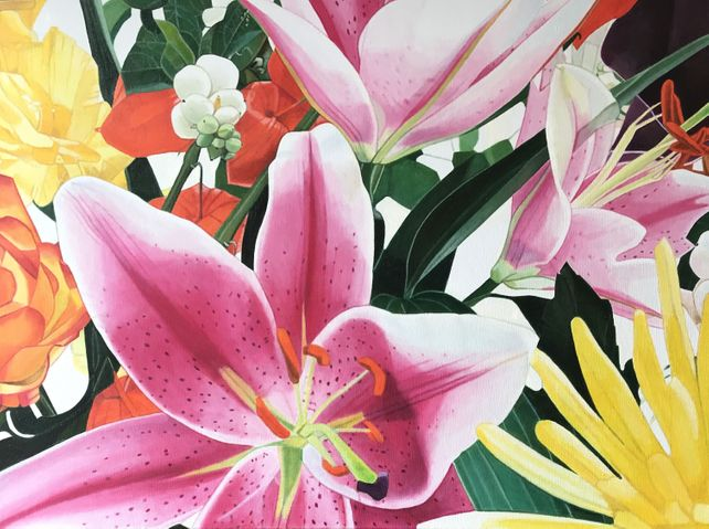 Lys roses (Pink lilies)