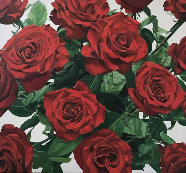 Les roses rouges (The red roses)